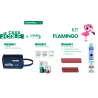 Kit Flamingo anticovid vuelta al cole