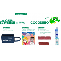 Kit Cocodrilo anticovid...