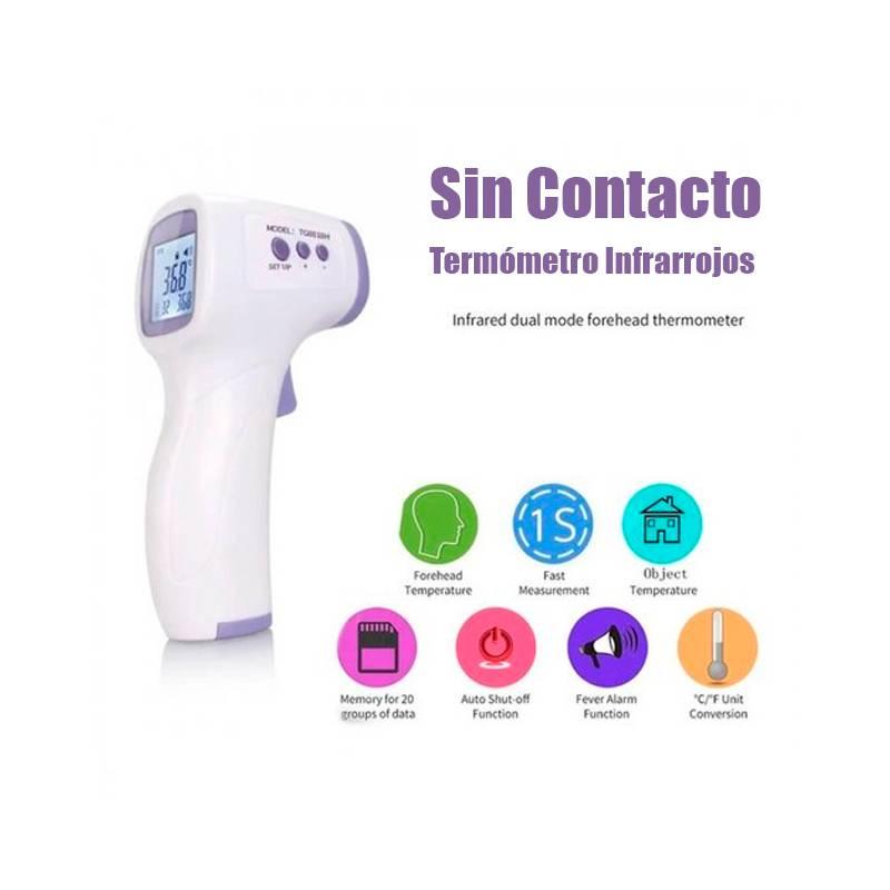 termometro infrarrojos sin contactos para niños y adultos