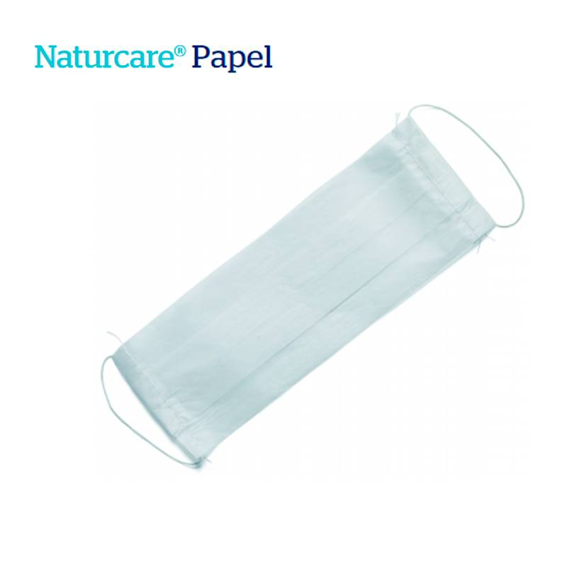mascarilla de papel naturcare