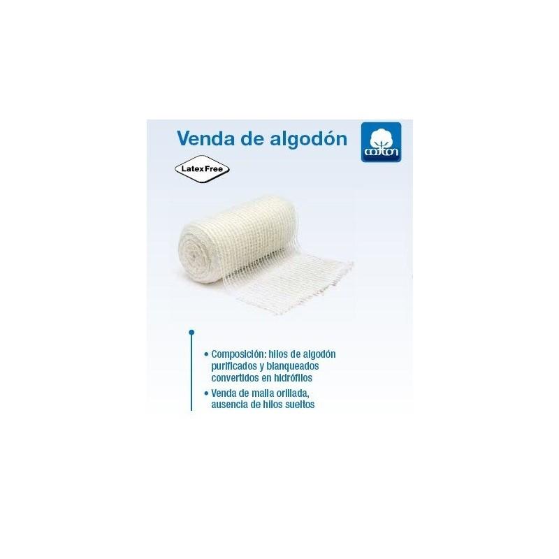 venda de sujeción de algodón 5x10