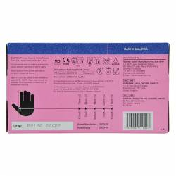 Guantes nitrilo sin polvo Maxter caja 100 unidades
