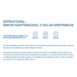Mascarilla reutilizable IMBROS AIR 100 lavados tallas
