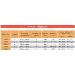 caracteristicas guantes de latex laticecs PF