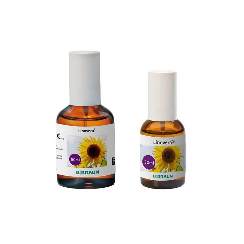 Linovera aceite en spray para prevención de úlceras de la piel