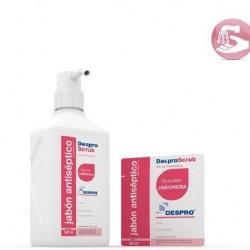 jabon antiseptico despro scrub Clorhexidina al 4% sobres monodosis 20ml