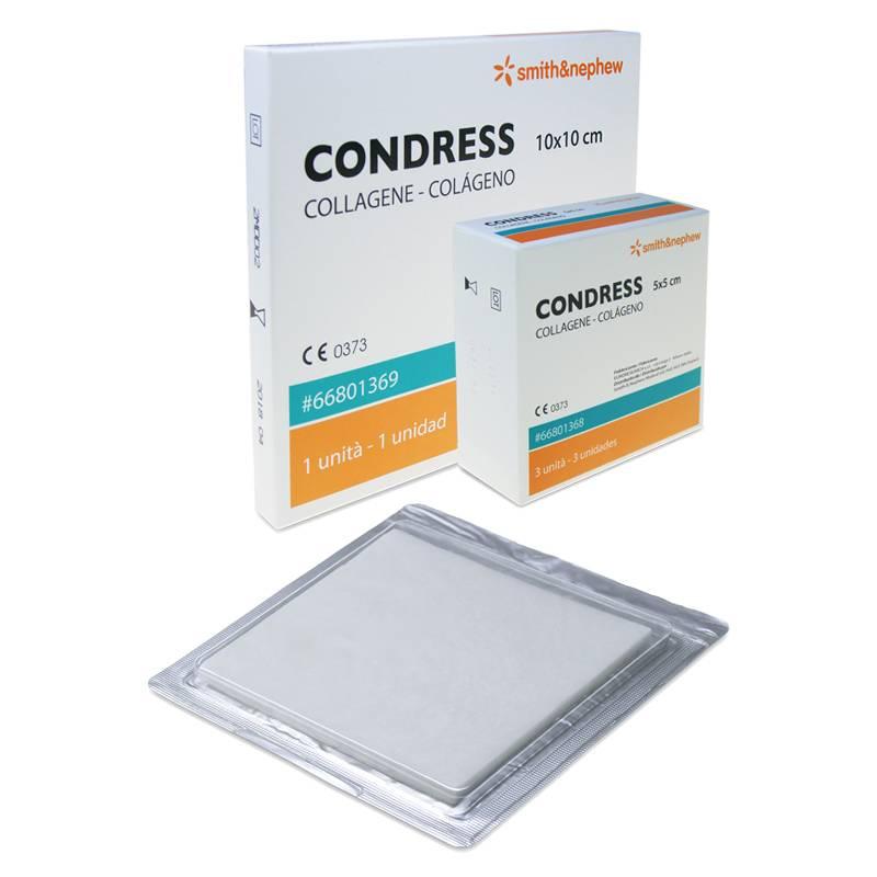 CONDRESS apósitos de colágeno - PRESENTACIÓN