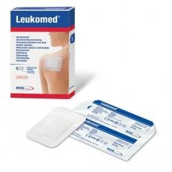 apósito absorbente con compresa central leukomed