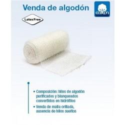 venda de sujeción de algodón 10 m x 15 cm