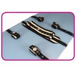 Cinturón cama loneta Kit completo Iron clip