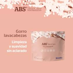 Gorro lavacabezas ABS SkinCare - Presentación de producto