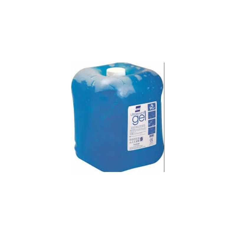 Gel de ultrasonidos Konix Azul 5 Litros