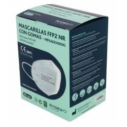 caja mascarilla FFP2 Radex con gomas