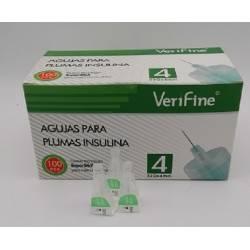 Agujas para pluma de insulina 32G x 4mm