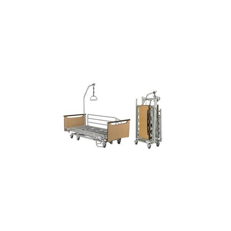 cama plegable articulada con carro elevador x'press