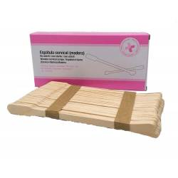 Espátula cervical de madera caja 200 unidades