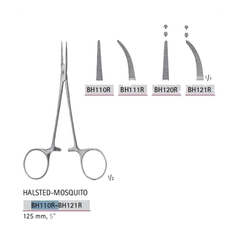 halsted mosquito pinza hemostática