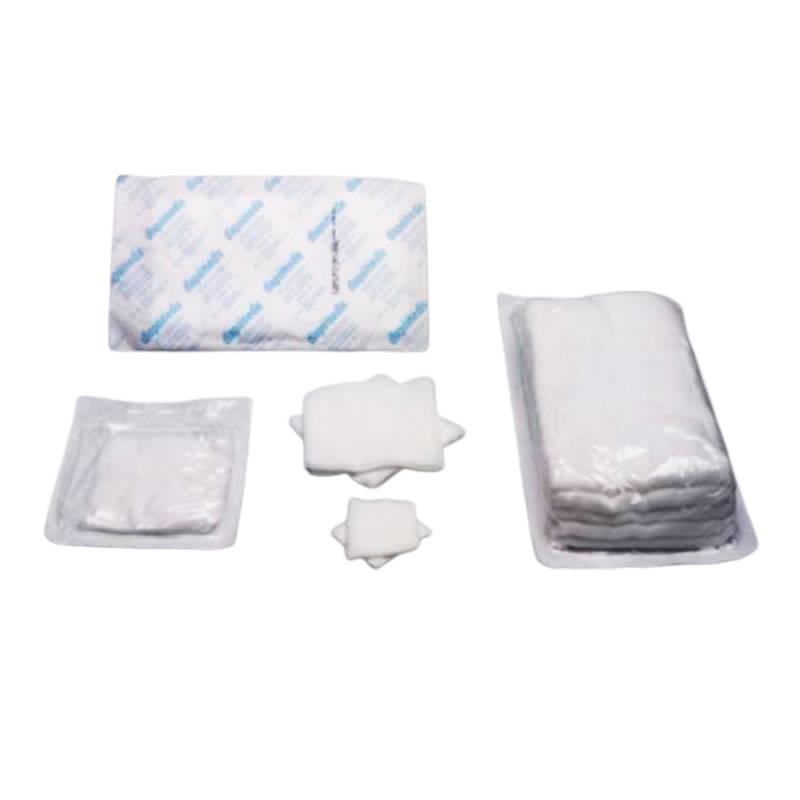 Gasas y compresas de Tejido sin tejer estériles 15x15 cm (7