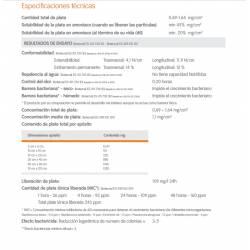 especificaciones técnicas aposito ACTICOAT FLEX 3