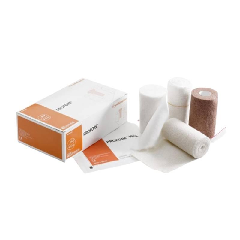 sistema de compresión de cuatro capas  PROFORE