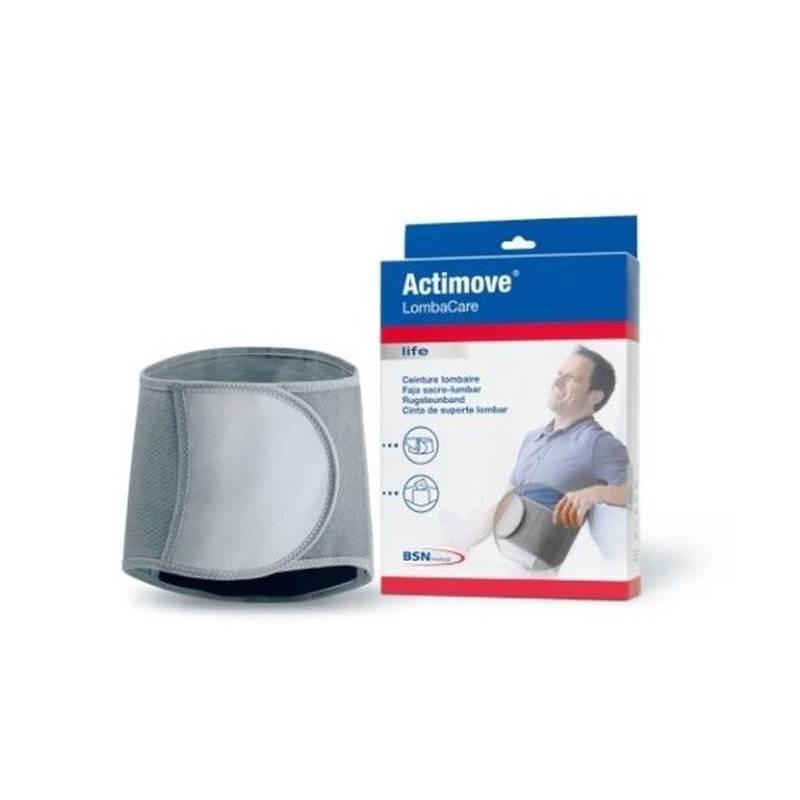 Faja lumbar con estabilizadores y bolsa para termoterapia Actimove Lombacare