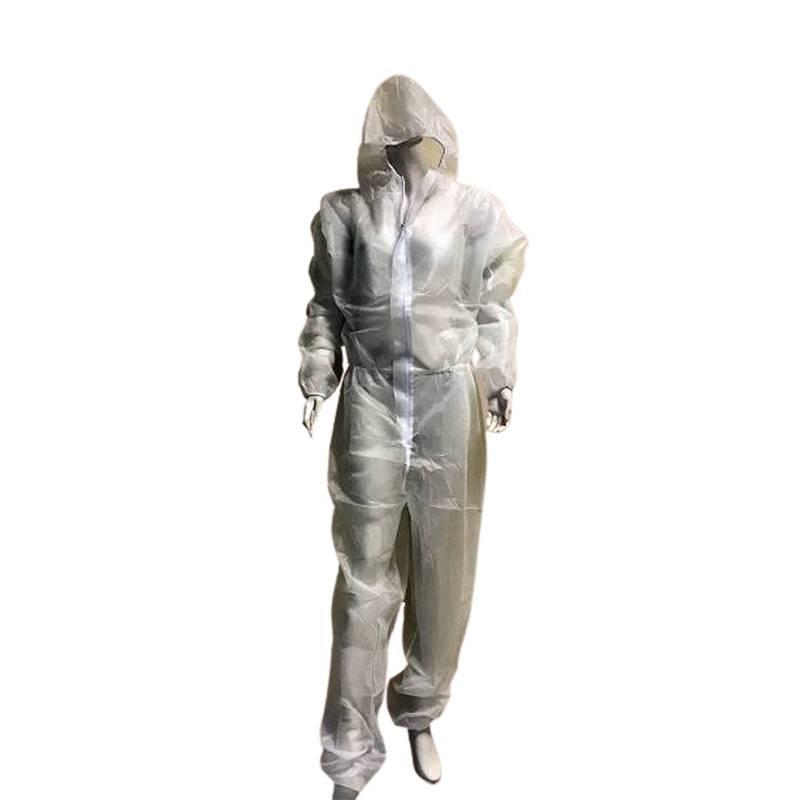 Buzo Impermeable PP+PE desechable con capucha