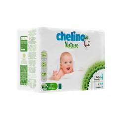 Pañal bebe Chelino Nature Talla 4
