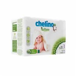 Pañal Bebe Chelino Nature talla 3 4-10Kg