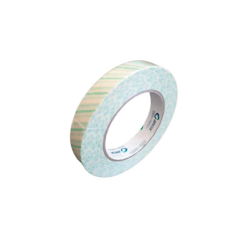 Cinta adhesiva indicadora por Vapor de agua en bobina.