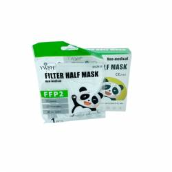 Mascarilla FFP2 infantil color Blanco