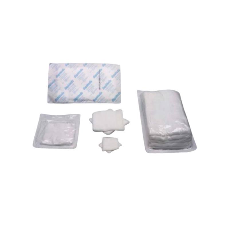 Apósitos y gasas estériles TNT 30 gramos 10x10 4 capas DISPOMEDIS