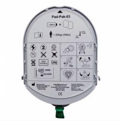 PAD-PAK Adultos de Batería y electrodos para Desfibriladores Samaritan Pad