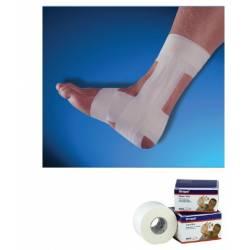 Strappal Venda adhesiva hipoalergénica e inelástica (Taping)