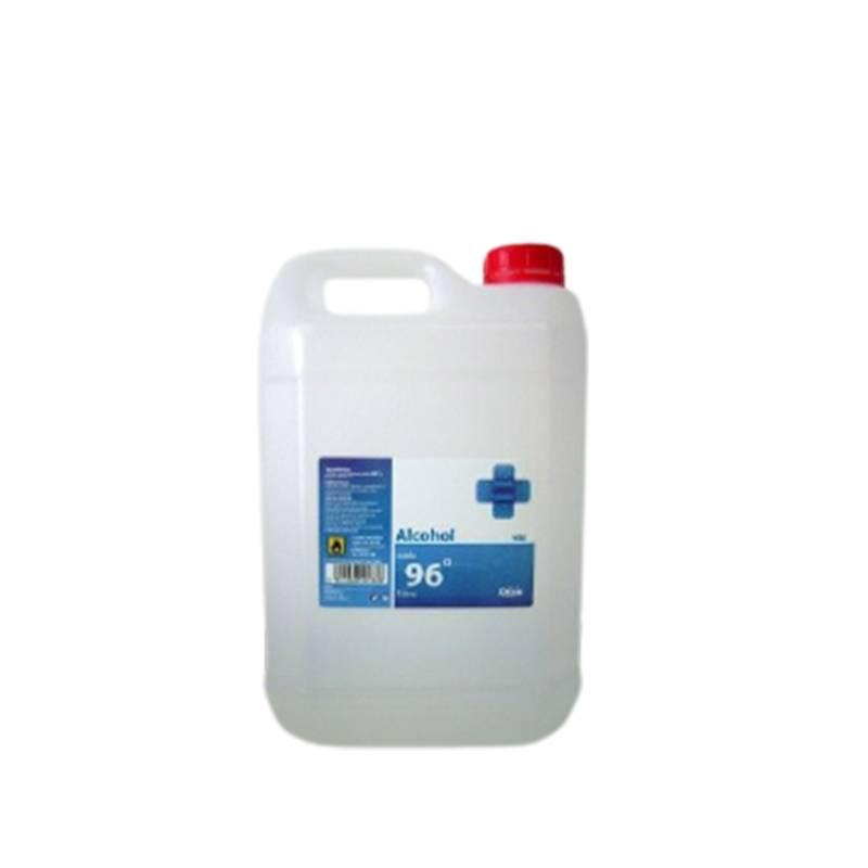 alcohol YBF 96º garrafa de 25 litros