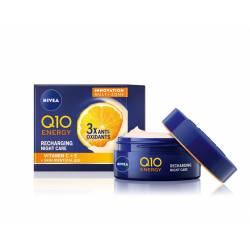 Crema de noche Nivea Q10 Energy Antiarrugas Energizante 50ml