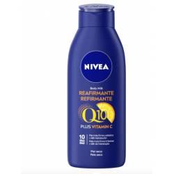 Nivea Body Milk Reafirmante Q10 vitamina C piel seca