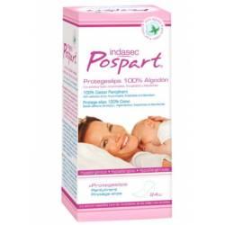 Indasec Pospart Protegeslips 100% algodón 24 unidades