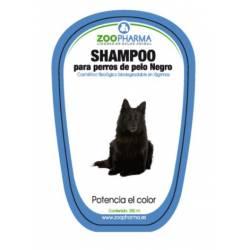 Champú para perros de color negro y colores oscuros