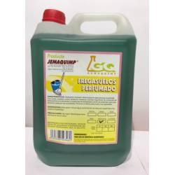 Fregasuelos amoniacal Jemaquimp Garrafa 5 litros