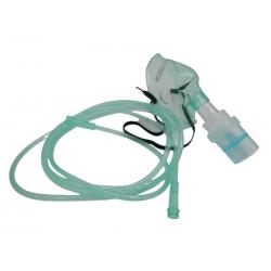 Mascarilla adulto de oxigeno con nebulizador y 2,1m de tubo