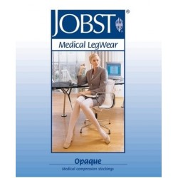 Media Jobst Opaque corta puntera cerrada CCL2 Short