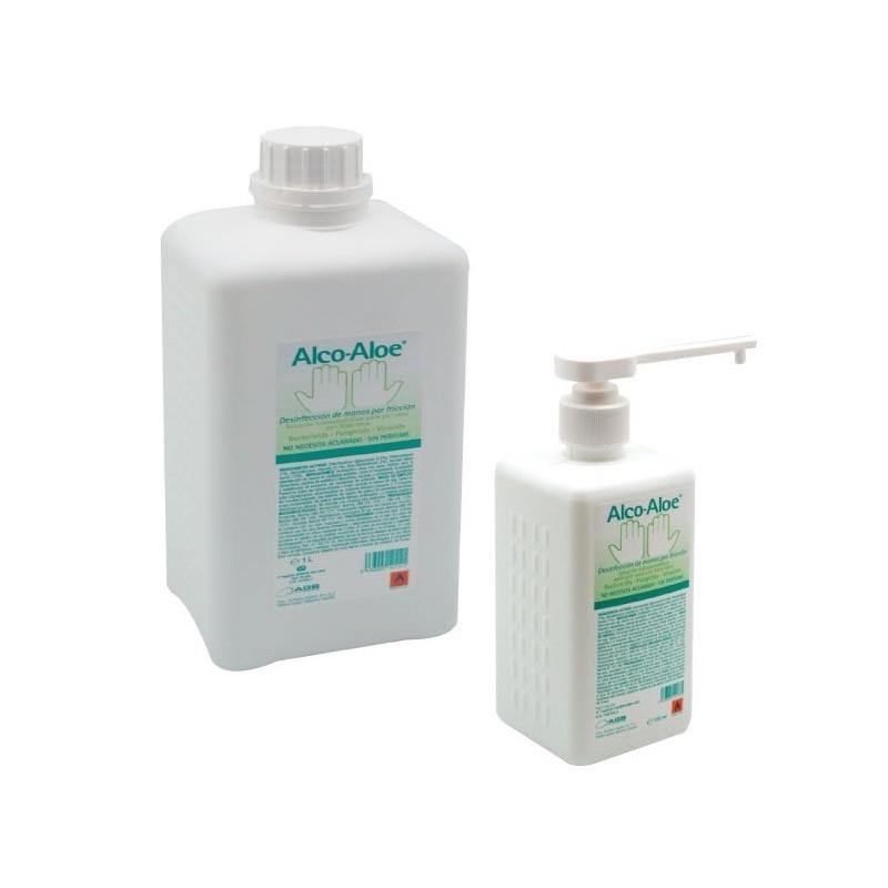 solución hidroalcoholica Alco-Aloe 500 ml