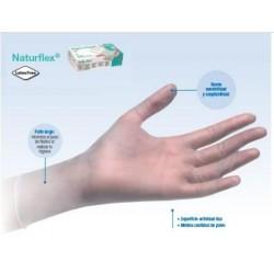 guantes de vinilo con polvo NATURFLEX