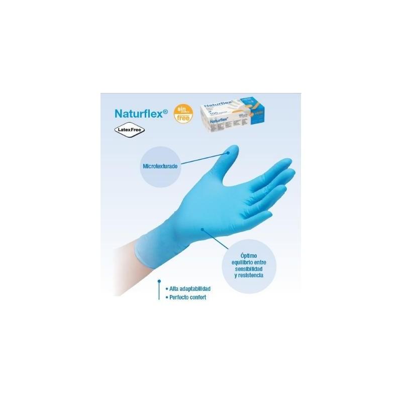 guantes nitrilo s/p NATURFLEX