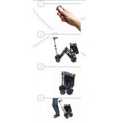 forma de plegar la scooter Apex Transformer