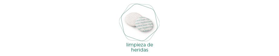 Comprar Apósitos para LIMPIEZA DE HERIDAS online | PARAFARMIC