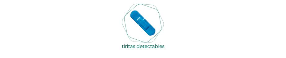 Tiritas detectables