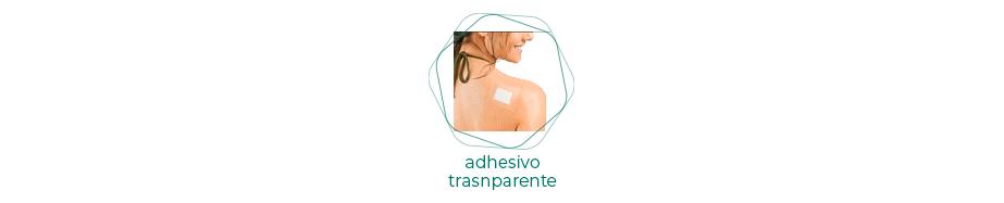 Adhesivos transparentes