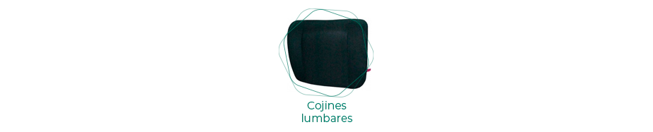 Cojines lumbrares