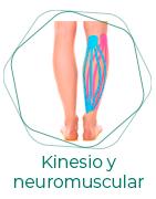 Vendaje kinesiológico y neuromuscular